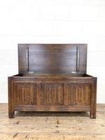 Vintage Oak Blanket Box (8 of 10)