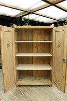 Fabulous Old Pine 2 Door Cupboard / Linen Cupboard / Food / Larder with Shelves  - We Deliver! (9 of 11)