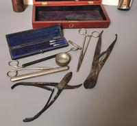 Antique Victorian Surgeons Tools, Medical, Documents, Cabinet of Curiosity (6 of 7)