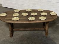 Super Rustic French Oval Farmhouse Dining Table (34 of 36)