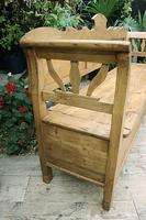 Fabulous Old (Victorian) Hungarian Box/ Storage/ Hall Bench (7 of 11)
