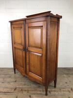 Victorian Mahogany Two Door Cupboard (12 of 13)