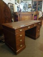 Antique Pedestal Desk (3 of 6)