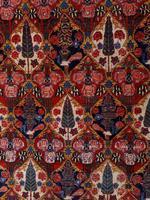 Antique Bakhtiari Rug with Sarv-o-kâdj Design (6 of 14)