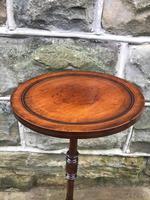Edwardian Inlaid Mahogany Tripod Wine Table (2 of 7)