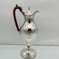 18th Century Antique George III Sterling Silver Coffee Jug London 1791 John Robins (4 of 9)