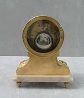 French Louis XV Style Bronze Gilt Mantel Clock by Leroy & Fils (7 of 8)