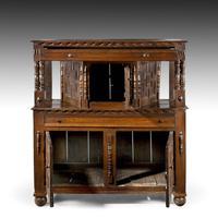 Good Late 17th Century Oak Court Cupboard (2 of 6)