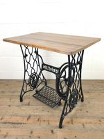 Singer Sewing Machine Treadle Table (6 of 10)