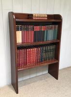 1930s Solid Mahogany Bookcase (3 of 8)