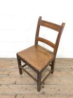 Four Similar 19th Century Welsh Oak Bar Back Farmhouse Chairs (5 of 9)