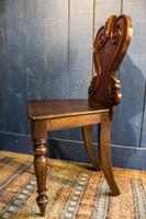 Pair of 19th Century Regency Style Hall Chairs (10 of 10)