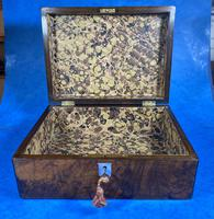 Victorian Jewellery Box in Burr Walnut (11 of 12)