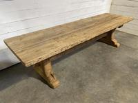 Rare Huge 3m Bleached Oak Farmhouse Table (20 of 23)