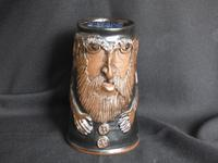 Give the Male, Good Strong Ale, Pottery Face Mug