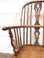 Antique Windsor Armchair in Elm & Ash (3 of 12)
