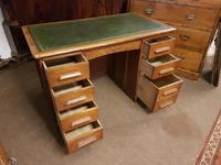 Antique Oak Desk (5 of 6)