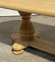 French Bleached Oak Monastery Dining Table (27 of 30)