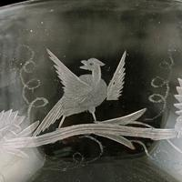 Fine Pair of Engraved Champagne Glasses (7 of 8)