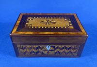 Victorian Rosewood Box With Inlay (4 of 17)