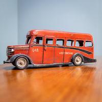 Retro Toy Tin Bus (3 of 7)