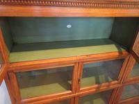 Superb Antique Oak Barrister's Double Glazed Bookcase (7 of 11)