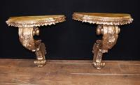 Antique French Console Tables - Gilt Louis XVI (6 of 10)