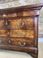 French 19th Century Burr Walnut Commode (4 of 6)