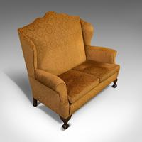 Antique Queen Anne Style Sofa, English, Two Seat Settee, Victorian, Circa 1880 (4 of 10)
