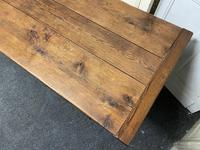 Long French Oak Farmhouse Dining Table (16 of 17)