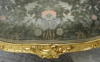 Beautiful Matched Pair of Fine Quality French Gilt Armchairs c.1900 (16 of 16)