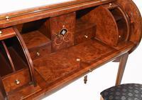 Art Deco Roll Top Desk & Chair Set 1920s (5 of 16)