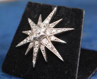Diamond Star Pendant Set with Old Cut Diamonds (6 of 6)
