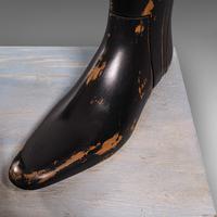 Antique Decorative Boot Tree, English, Beech, Ornamental, Shoe Last, Edwardian (11 of 12)