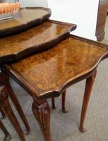 Burr Walnut Nest of Tables (3 of 7)