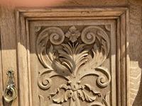 Wonderful Art Nouveau Bleached Oak Sideboard (24 of 26)