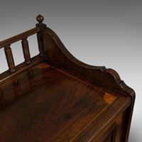 Antique Purdonium, English, Rosewood, Fireside, Cabinet, Edwardian c.1910 (4 of 11)