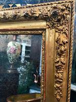 19th Century French Gilt Landscape / Portrait Mirror (3 of 4)