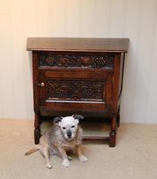 French Dark Oak Side Cabinet (6 of 10)