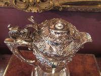 Antique Solid Silver Mounted Claret Jug (7 of 8)