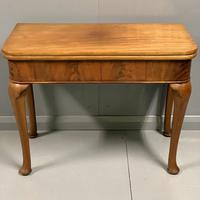 Pale Mahogany Queen Anne Style Side Table (7 of 7)