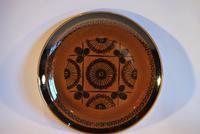 Mid Century Norwegian Pottery Plate - Stavangerflint Sera - Design Inger Waage