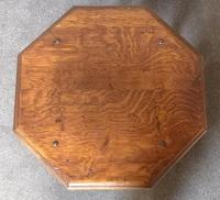Oak Octagonal Occasional Table - Siesta Furniture (6 of 7)