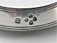 Rare Victorian Silver Decanter Label Collar (2 of 5)