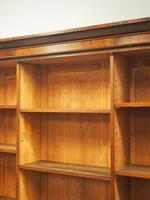 Victorian Mahogany Open Bookcase (4 of 11)