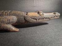 Wooden Carved Alligator (2 of 7)