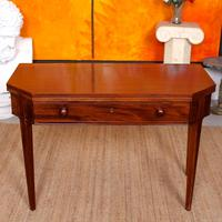Folding Writing Desk 19th Century Mahogany (11 of 17)