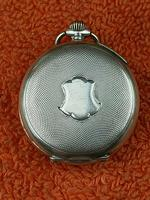 Antique Silver .800 Remontoir Cylindre 10 Rubis Case with Medusa Movement (2 of 6)