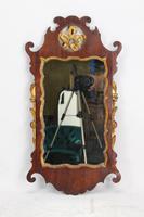 Georgian Mahogany Chippendale Fretwork Mirror (2 of 13)