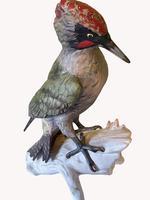 A Porcelain Green Woodpecker by Goebel of Germany (3 of 6)